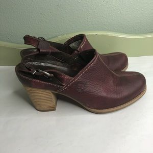 Selling timberland shoes heels women size 8.5